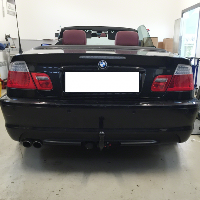 bmw series 3 e46 m sports pack invisible towbar tow. Black Bedroom Furniture Sets. Home Design Ideas