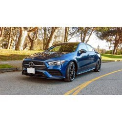The 2nd Generation MB CLA - the small coupe is on the roads.  Can the new 2020 CLA tow?