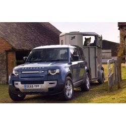 The new Land Rover Defender might remind you of the original, but in fact, it is a completely overhauled, modern, high-tech off-roader. Can the new L663 Defender tow? Need a Defender towbar?