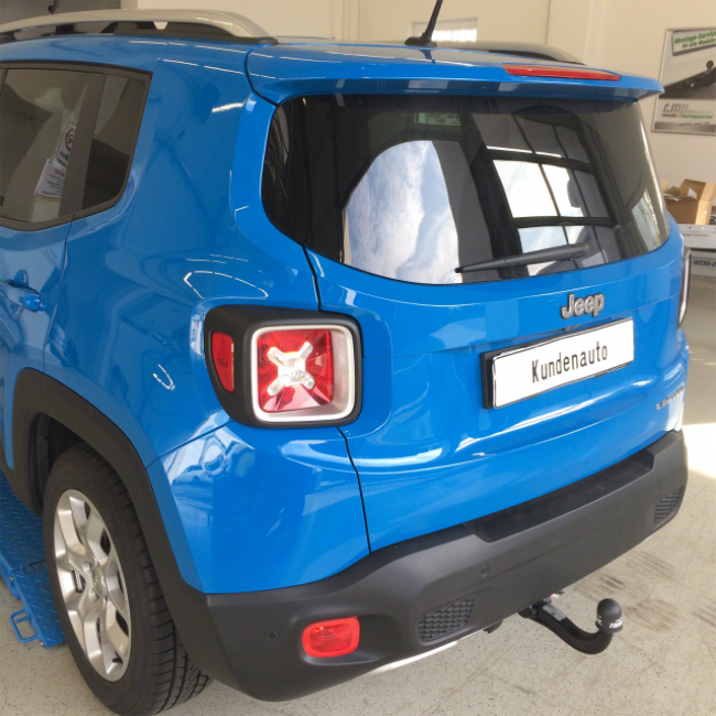 Range Rover Towing Capacity >> Jeep Renegade Invisible Towbar | Hitch - Tow bars designed