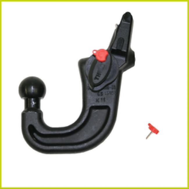 range rover sport detachable towbar fitting instructions